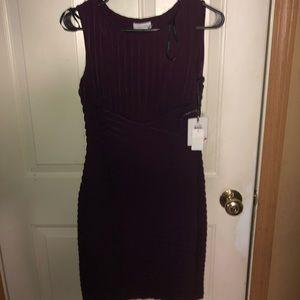 Calvin Klein Burgundy Dress
